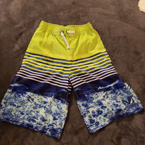 dfc75a564e Nautica boys swim trunks XL 18-20 M. M_5ba8e5750cb5aa8335a1c07b